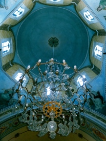 Catholic church in Santorine, Greece