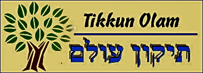 "In Hebrew ""Tikkun Olam"" means ""to hear a fractured world"""