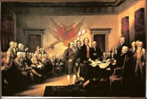 Celebrating the founding fathers on the 4th of July
