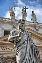 Saint Peter statue at the Vatican