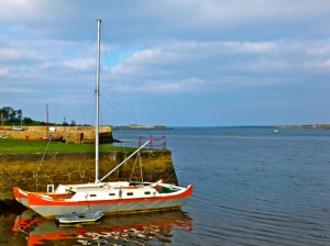 A picture of Kinvara I took in February 2013.