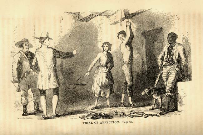 Irish slaves being whipped Source: movieplot