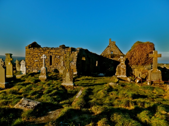Killilagh church ruins, Doolin