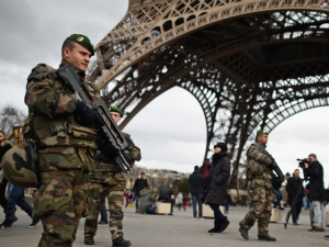 """Some people argue that the recent attacks in Paris are """"false flag"""" incidents being used to implement a French """"Patriot Act"""" Picture source: The Indy Channel"""