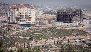 West Bank settlement on Palestinian land Source: Haaretz.com