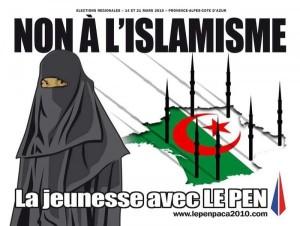 Marine Le Pen's anti-Muslim political advert