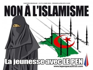 Marine Le Pen's anti-Muslim political advert