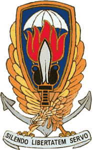"Emblem of ""Operation Gladio,"" part of NATO's ""secret wars"" Picture source: Wikipedia"