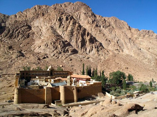 Saint Catherine's Monastery in Egypt