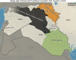 Islamic State territory; Source: Stratfor