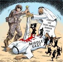 Image result for caricature u.s. saudi arabia israel