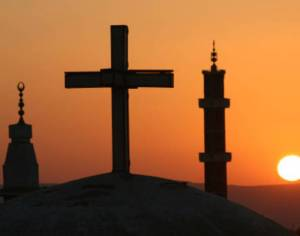 Christians and Muslims living in harmony and peace. Source: viralread.com