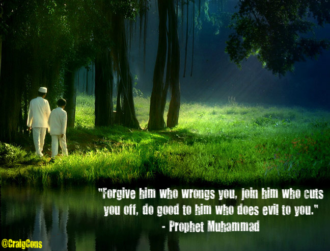 "Prophet Muhammad and the ""Golden Rule"""