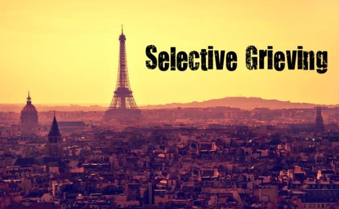 Paris selective grieving